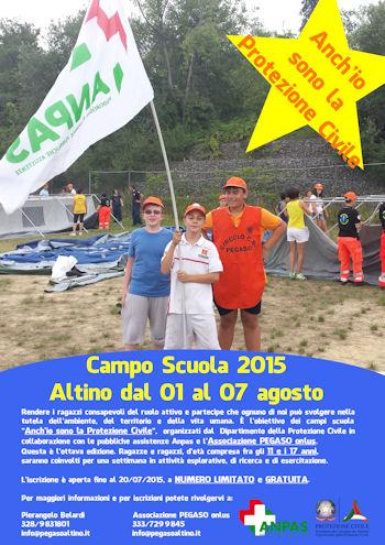 Campo Scuola 2015 Altino