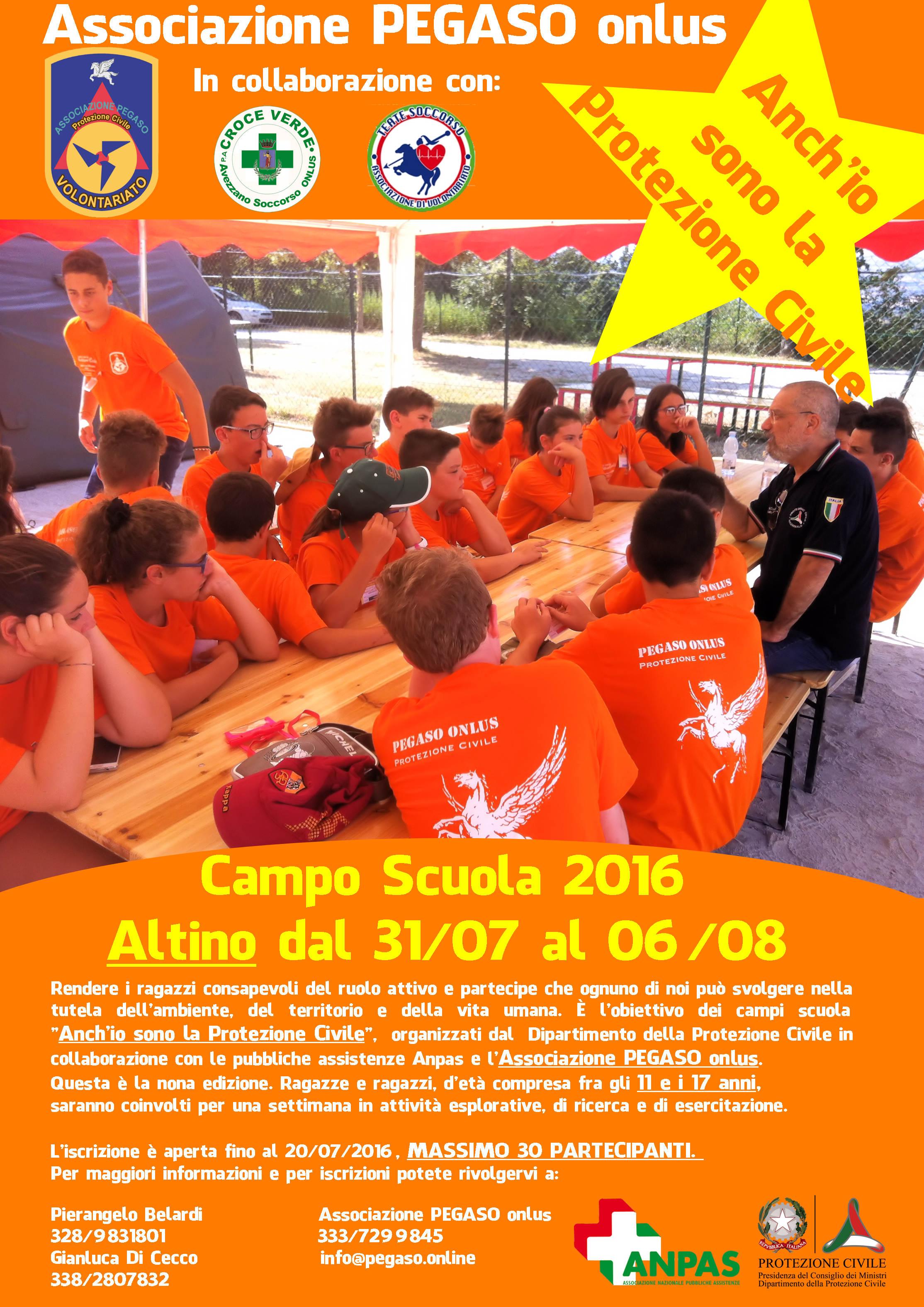Campo Scuola 2016 Altino
